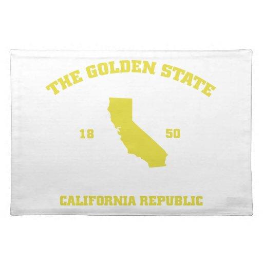 Golden State de la ropa de Kris Alan Mantel