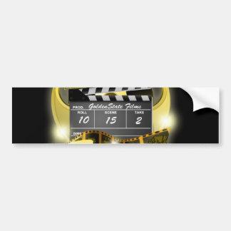 Golden State Films Bumper Sticker Car Bumper Sticker