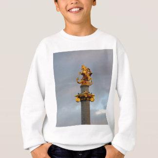 Golden Statue Of Saint George, Republic Of Georgia Sweatshirt