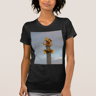 Golden Statue Of Saint George, Republic Of Georgia T-Shirt