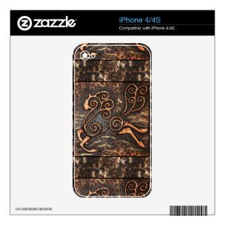 Golden Steed iPhone 4 Skins