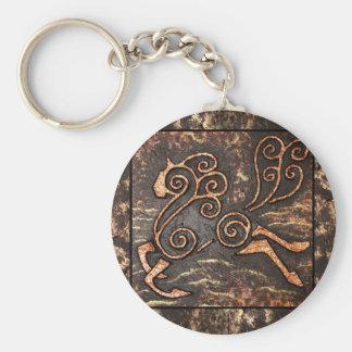 Golden Steed Keychain