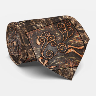 Golden Steed Tie