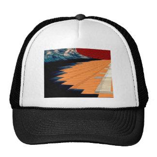 Golden Steps - Magic Piono Rythem Trucker Hat