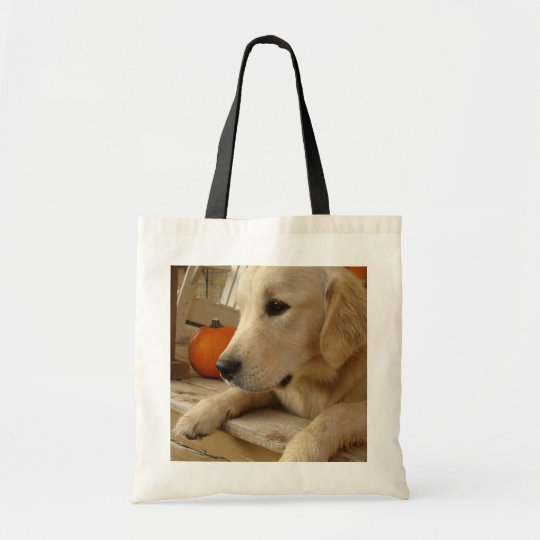 Golden stock market tote bag