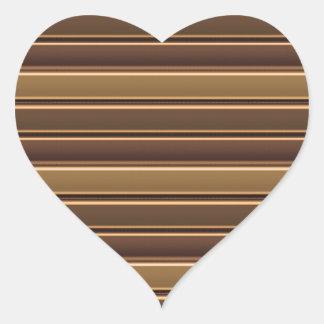 Golden Stripe TEMPLATE diy easy add TEXT PHOTO Jpg Heart Sticker