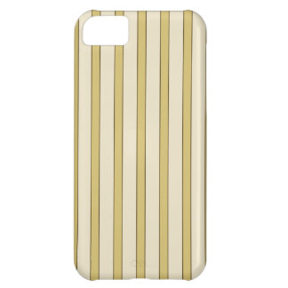 Golden Stripes Cover For iPhone 5C