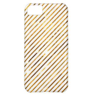 Golden Stripes - iPhone 5 Case