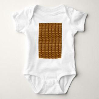 GOLDEN Strips Pattern : From VINTAGE Idol Image Baby Bodysuit