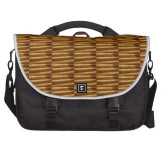 GOLDEN Strips Pattern From VINTAGE Idol Image Commuter Bags