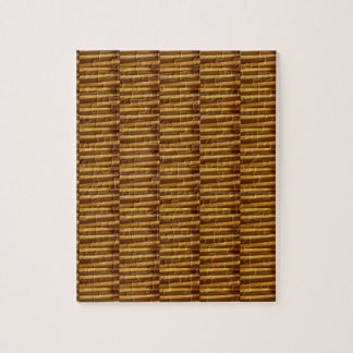 GOLDEN Strips Pattern : From VINTAGE Idol Image Jigsaw Puzzle