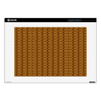 "GOLDEN Strips Pattern : From VINTAGE Idol Image Skins For 15"" Laptops"