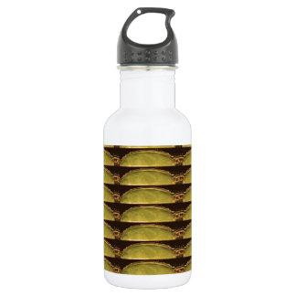 GOLDEN Strips Pattern : From VINTAGE Idol Image Water Bottle