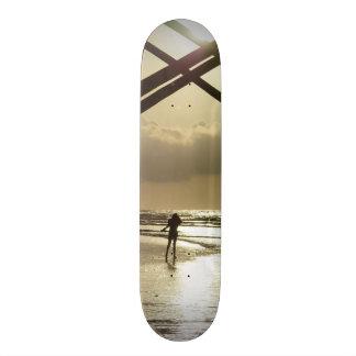Golden Stroll Skateboard Deck