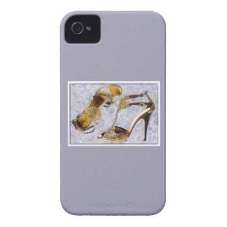 Golden Studded Stilettos iPhone 4 Case