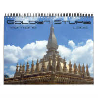 golden stupa 2021 calendar