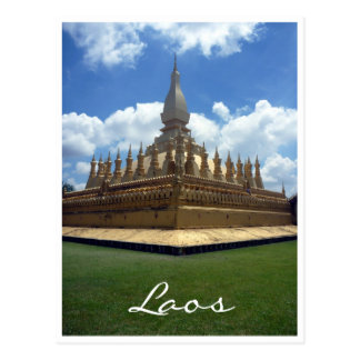 golden stupa postcard