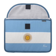 Golden Sun Argentina Flag Macbook Pro 13