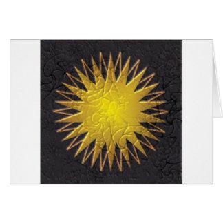 Golden Sun Card