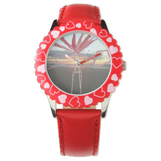 Golden Sun Play Time Wrist Watch