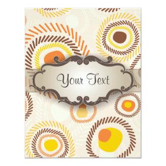 Golden Sunbursts with Nameplate Card
