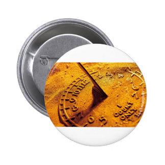 Golden Sundial Button