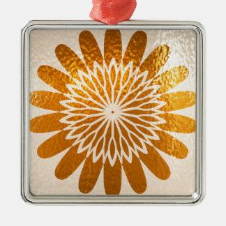 Golden Sunflower ART decoration Christmas Tree Ornament