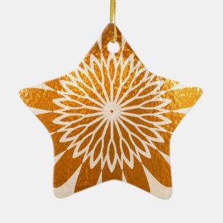 Golden Sunflower ART decoration Christmas Ornaments