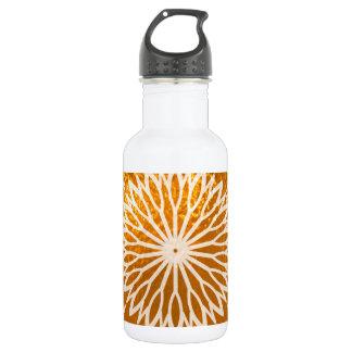 Golden Sunflower ART decoration Stainless Steel Water Bottle