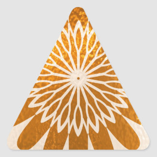 Golden Sunflower ART decoration Sticker