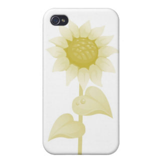 Golden Sunflower Hard Shell Case for Iphone