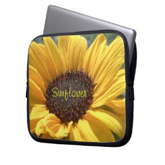 Golden Sunflower Laptop Sleeve