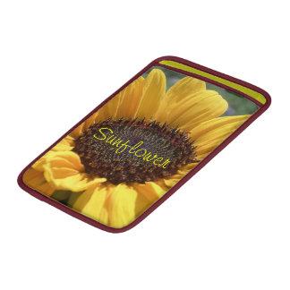 Golden Sunflower MacBook Air Sleeve