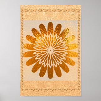 Golden  Sunflower Sparkle   Decorations