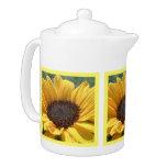 Golden Sunflower Teapot