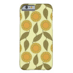 Golden Sunflowers Pattern iPhone 6 case iPhone 6 Case