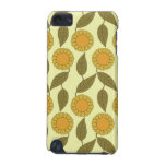 Golden Sunflowers Pattern iPod Touch Case