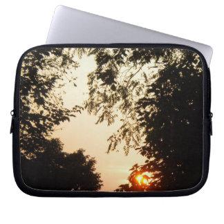 Golden Sunrise Laptop Sleeve