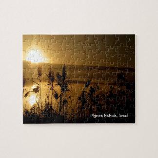 Golden Sunrise Puzzle