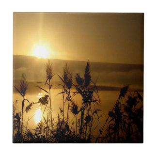 Golden Sunrise Tiles