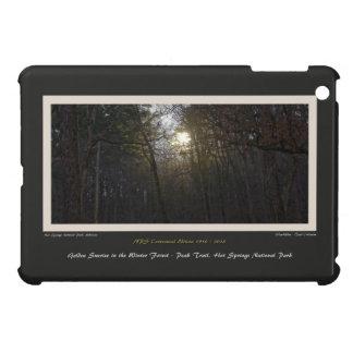 Golden Sunrise Winter Forest Centennial Ed iPad Mini Case