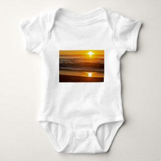 Golden Sunset at Horsfall Beach Baby Bodysuit