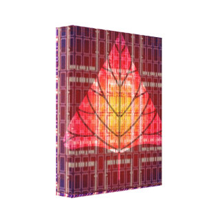 Golden Sunset Light Energy Canvas Print