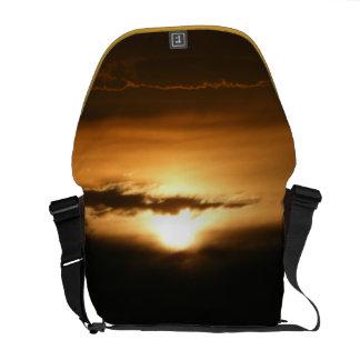 Golden Sunset Messenger Bags