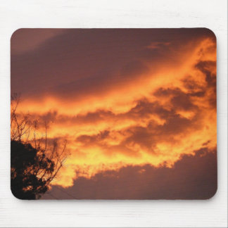 Golden Sunset Mouse Pads