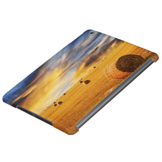 Golden Sunset Over Farm Field Case For iPad Air
