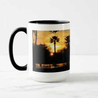 Golden Sunset Over Tucson Mug