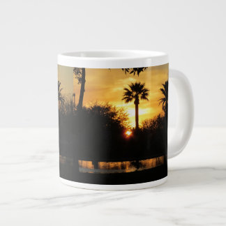 Golden Sunset Over Tucson Soup Mug