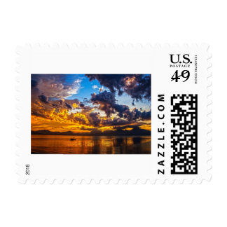 Golden Sunset Postage