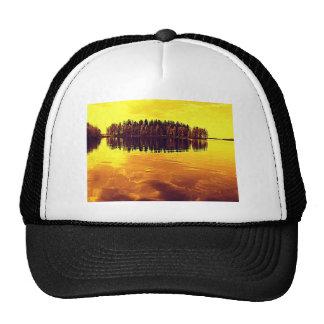 Golden Sunset Trucker Hat